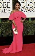 Angela Bassett wearing Christian Siriano