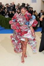 Rihanna in Comme des Garcons