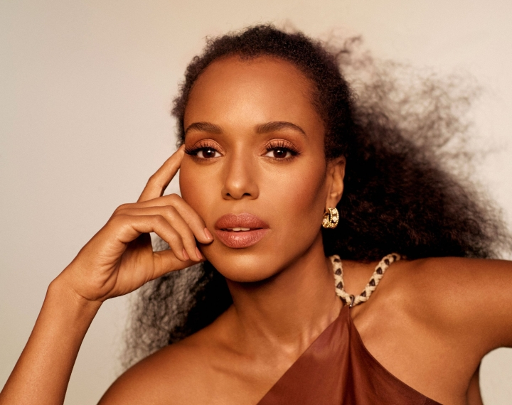 Kerry Washington for Marie Claire, Nov. 2018